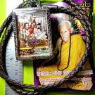 6158-THAI REAL AMULET PHOTO LOCKET CHARMING GIRL SEXUAL ATTRACT MIND LP INN BIG
