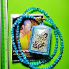 6394-THAI REAL AMULET PENDANT LOVE ATTRACT GOD CATCH MIND LADY LUCKY LP KERN