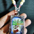 6446-THAI REAL AMULET PENDANT LADY TELL WINDFALL RICH WEALTH LP LERSRI LINGYAI