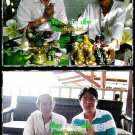 7572-THAI REAL AMULET BUCHA BRONZE LERSRI SKULL RIDER GREAT MASTER  AJHAN KOM