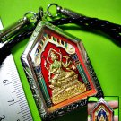 7705-THAI REAL AMULET WAT KAWJAMFA MASS 108 MONKS BLESS PHA PHOM 4 FACE PIKANET