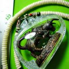 9363-REAL THAI AMULET HOLY BUFFALO COW PROTECTION EVIL GHOST POWER MAGIC KALONG