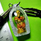 8887-THAI REAL AMULET CHUCHOK SUPER FAST BECOME TO RICH MILLIONAIR MONEY LP GOY