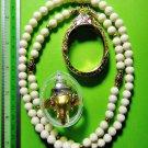 6096-THAI REAL AMULET PIKANET ELEPHANT HEAD LP PERN 24K GOLD PENDANT YELLOW RICH
