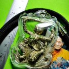 8070-MONKEY 4 FOUR HAND FLYING AMULET THAI REAL BRONZE WINDFALL MONEY LP KALONG