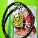 6135-THAI REAL AMULET BUDDHA AUP-TA-KUB LERSRI RICHLY WEALTH PENDANT LP NONG