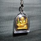 7270-THAI REAL AMULET CHUCHOK RICH MILLIONAIR LP SRIMEANG SPECIAL GOLD MASTER 3T