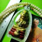 9598-REAL THAI AMULET PENDANT HANDMADE GUMAN HOLY BOY SPIRIT LUCKY RICH LP DAM