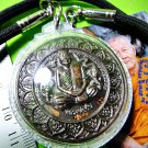 9368-REAL AMULET THAI WHEEL MEDAL PHA-NARAI GOD OF WISTFUL MIND 8 ARMS LP AUNT