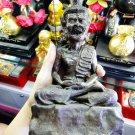 9583-REAL THAI AMULET LERSRI MASTER HUMAN FACE STATUE 1 TAKUD LP KALONG 2009