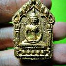 7054-THAI REAL AMULET KHUN PAEN CHARMING LOVE ATTRACT PLAI GUMAN LP DUM GOLD