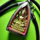 6671-REAL THAI AMULET BUDDHA PEACEFUL SEATED CHINNARAJ GROUP BLESS 2012 FRIGURE