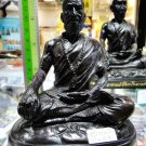 8586-STATUE DOCTOR HEALTHY LERSRI GRAND MASTER LP KEY AMULET THAI REAL