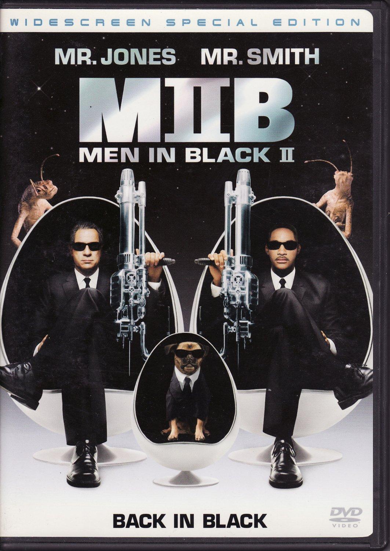 Men In Black II 2-Disc DVD Will Smith Tommy Lee Jones Free Shipping