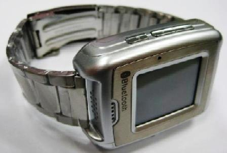 UNLOCKED GSM TRI-BAND CELL PHONE WATCH TOUCH SCREEN