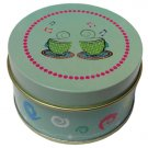 Lovely candy gift tin box