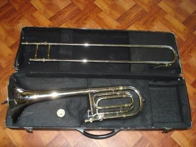 Maestro Nickel Plated Trombone w/ Case