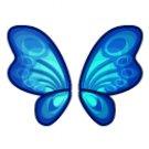 Blue Flutterfly Wings - Buy 1, Get 1 free!