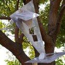 Dorothy's House metal hanger art sculpture OOAK