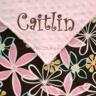 Daisy Dreams Minky Baby Blanket Personalized