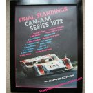 Final Standings CAN-AM Series 1972