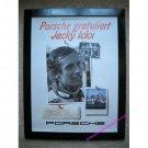 Fahrer-Weltmeisterschaft '82 Porsche Gratuliert Jacky Ickx