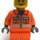 New Lego® Construction Worker Minifigure