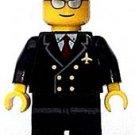 New Lego® Pilot Minifigure