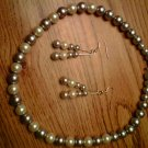 Handmade Pearl Jewelry Set