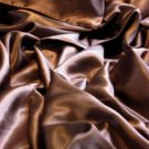 4 pcs Luxurious 100% silk charmeuse sheet sets Queen in Chocolate Brown