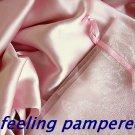 100% Silk pillowcase King pillow case Pink Hair and Facial Beauty