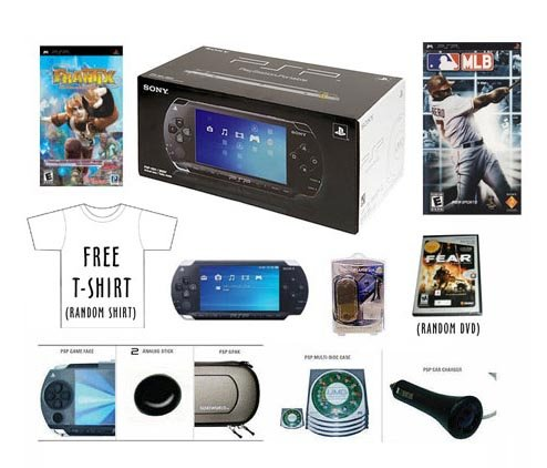 SONY PSP CORE PORTABLE CONSOLE PLAYSTATION GAME PAK