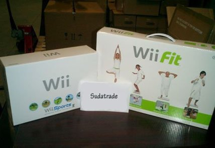 NEW 1 NINTENDO WII GAME CONSOLE+ WII FIT BUNDLE+ GAMES