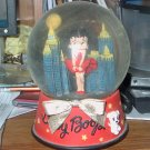 Betty Boop musical snow globe