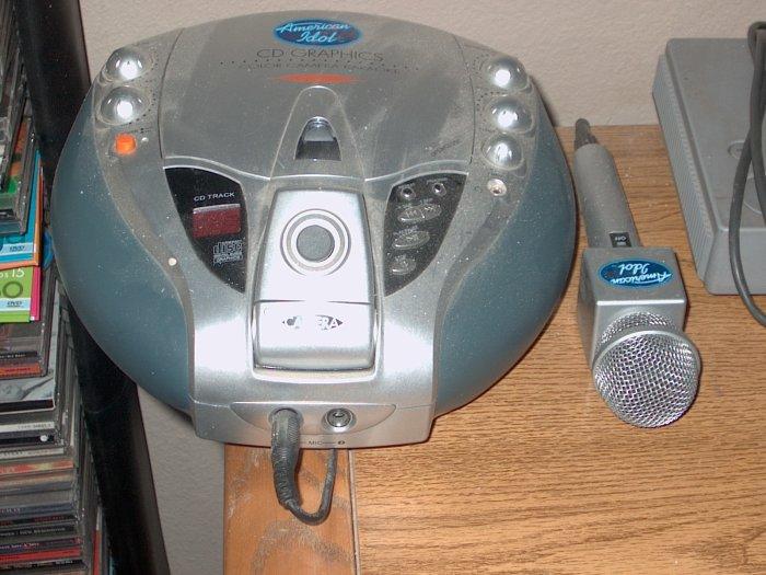 American Idol Kareoke machine