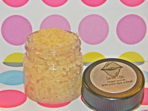 Raspberry Smoothie - Sweet Lips Sugar Scrub � Darling Girl Cosmetics