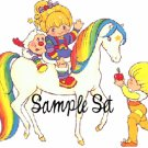 Rainbow Brite (sample set) ♥ Darling Girl Cosmetics Eye Shadow