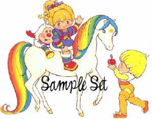 Rainbow Brite (sample set) � Darling Girl Cosmetics Eye Shadow