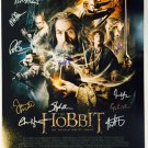 The Hobbit The Desolation of Smaug Cast Signed 16x20 Photo