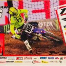 Dylan Merriam Supercross Autographed 11x17 Photograph