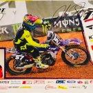 John Short Supercross Autographed 11x17 Photograph