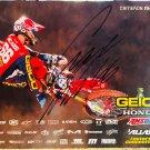 Cameron McAdoo Supercross Autographed 8.5x11 Photograph