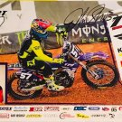 John Short Supercross Autographed 11x17 Picture