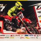 Ben LaMay Supercross Autographed 11x17 Photograph