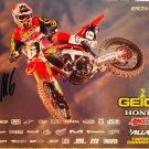 Jeremy Martin Supercross Autographed 8.5x11 Photograph
