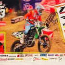 Chad Cook Supercross Autographed 11x17 Photograph