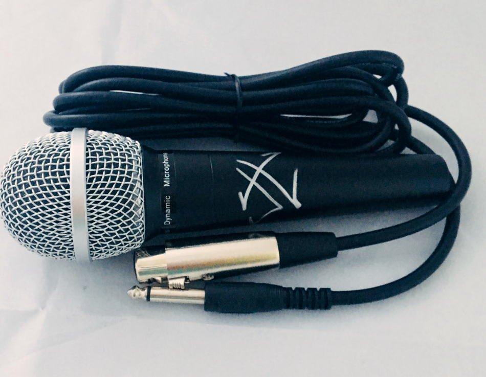 James Hetfield Metallica Autographed Microphone