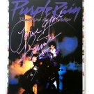 Prince Autographed RP 11x14 Canvas Print Wall Art
