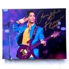 Prince Facsimile Autograph 11x14 Canvas Print Wall Art