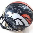 Denver Broncos 2015/16 Team Autographed Pro Line Helmet